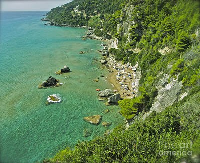 Photograph -  Mirtiotissa Beach . Corfu . Greece.  by  Andrzej Goszcz