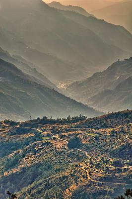Photograph - Kalinchok Kathmandu Valley Nepal by U Schade