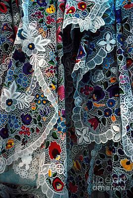 Kalocsa Folklore Art Print by Eva Kato