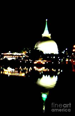 Pagoda Photograph - Kaluthara-pagoda by Surendra Silva