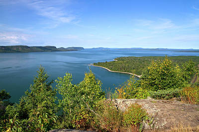 Thunder Bay Photograph - Kama Bay Is The Northern Most Portion by David R. Frazier
