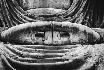 Photograph - Kamakura Buddha V - Daibutsu by Dean Harte