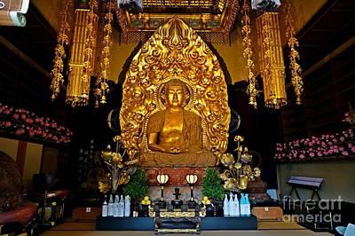 Apan Photograph - Kamakura Hase-dera Altar by Sergey Reznichenko
