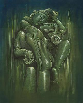 Painting - Khajuraho by Art Tantra