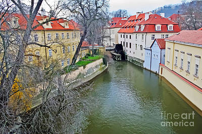 Photograph - Kampa Island Of Lesser Town by Elvis Vaughn