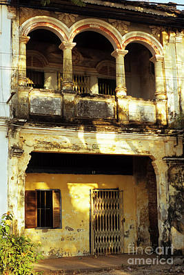 Photograph - Kampot Old Colonial 05 by Rick Piper Photography