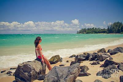 Photograph - Kanaha Beach Kahului Maui Hawaii by Sharon Mau