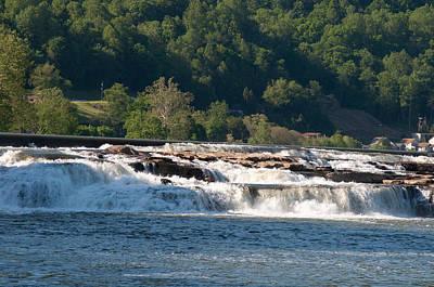 Photograph - Kanawah Falls I - Spring by Paulette B Wright