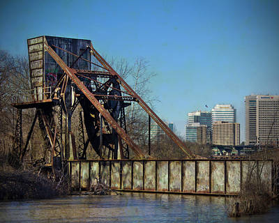 Photograph - Kanawha Canal Railroad Bridge by Jemmy Archer