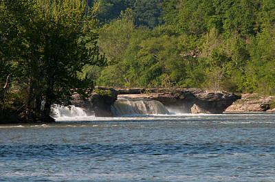 Photograph - Kanawha Falls II - Spring by Paulette B Wright