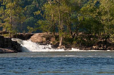 Photograph - Kanawha Falls IIi - Spring by Paulette B Wright
