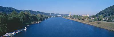 Wv Photograph - Kanawha River, Charleston, West Virginia by Panoramic Images