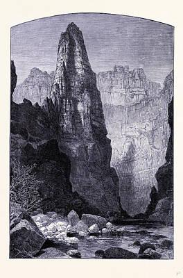 Kaneb Canyon United States Of America Art Print