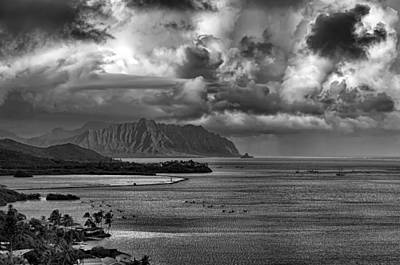 Kaneohe Bay And Kualoa Art Print