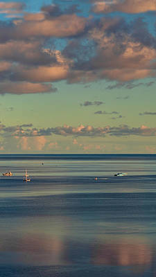 Photograph - Kaneohe Bay Panorama Mural 4 Of 5 by Dan McManus