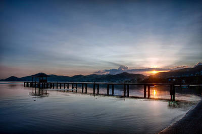 Photograph - Kaneohe Beach Park Sunrise by Dan McManus