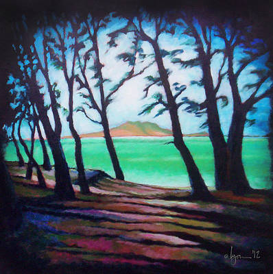 Painting - Kaneohe Shade by Angela Treat Lyon