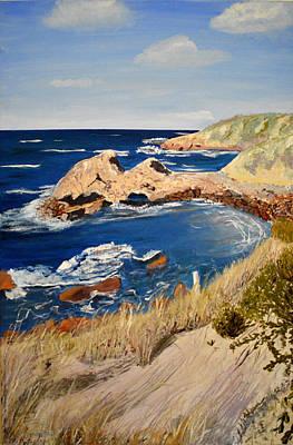 Kangaroo Island Lookout Art Print