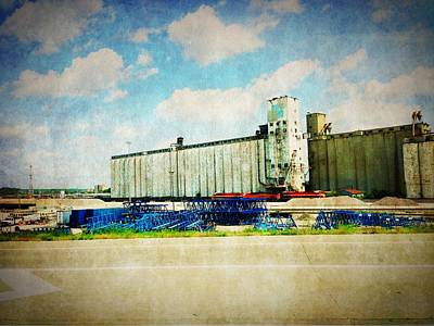 Photograph - Kansas City - Industrial by Richard Reeve