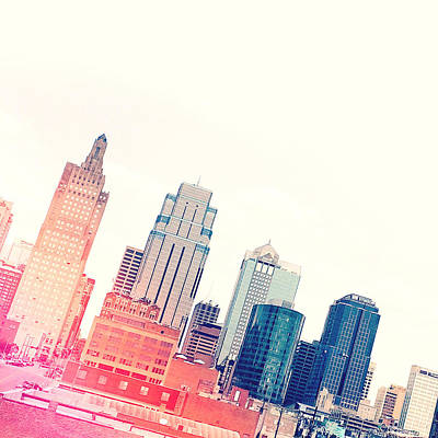 City Skyline Digital Art - Kansas City #4 by Stacia Blase