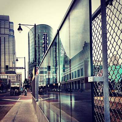 Reflected Digital Art - Kansas City #6 by Stacia Blase