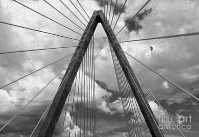 Kansas City Bridge - 03 Art Print by Gregory Dyer