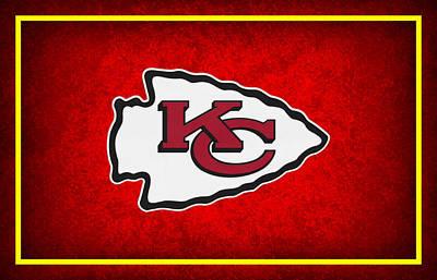 Kansas City Chiefs Art Print by Joe Hamilton