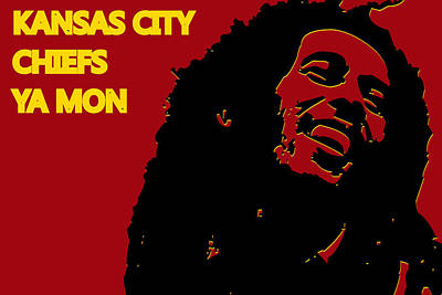 Kansas City Chiefs Ya Mon Print by Joe Hamilton