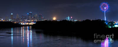Photograph - Kansas City Fireworks by Ryan Heffron