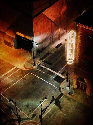 Photograph - Kansas City - Folly Theater 1 by Richard Reeve