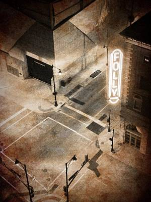 Photograph - Kansas City - Folly Theater 2 by Richard Reeve