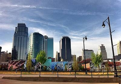 Kansas City Drawing - Kansas City by Kim D Roberts