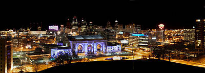 Photograph - Kansas City Lights by Deb Buchanan