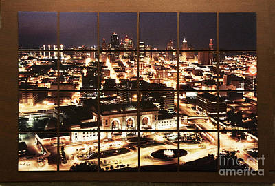 Photograph - Kansas City Mosaic by Crystal Nederman