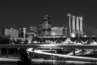 Photograph - Kansas City Night by Kyle Howard