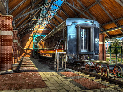 Art Print featuring the photograph Kansas City Southern by Ross Henton