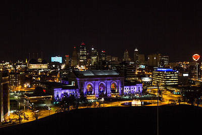 Photograph - Kansas City Union Station by Deb Buchanan