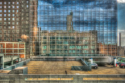 Kansas City Windows Art Print