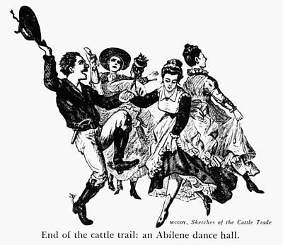 Kansas: Dance Hall Art Print