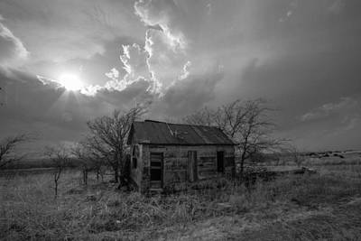 Kansas Farm House Art Print by Sean Ramsey