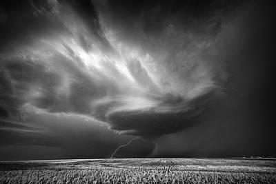 Kansas Photograph - Kansas Farm by Rob Darby