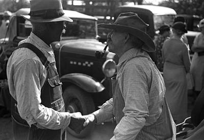 Black Commerce Photograph - Kansas Farmers, 1938 by Granger