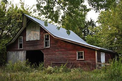 Barnstormer Photograph - Kansas Hay Barn by Guy Shultz