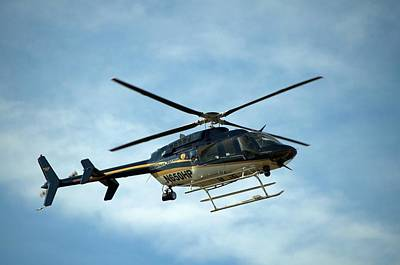 Photograph - Kansas Highway Patrol Helicopter by Tim McCullough