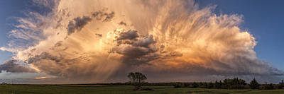 Photograph - Kansas Storm Cloud by Scott Bean