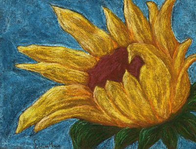 Pastel - Kansas Sunflower by Dawn Marie Black