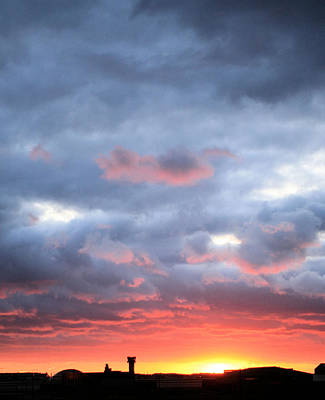 Atc Photograph - Kansas Sunset by JC Findley