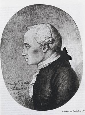Kant, Emmanuel 1724-1804. German Art Print by Everett
