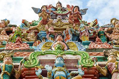 Hindu Goddess Photograph - Kapaleeswarar Hindu Temple, Chennai by Peter Adams