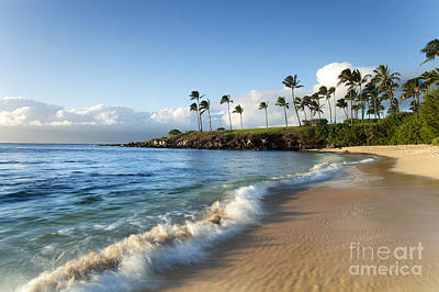 Photograph - Kapalua Beach by M Swiet Productions